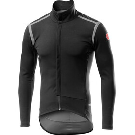 Castelli Perfetto Rain Or Shine Jas lange Mouwen Heren, light black